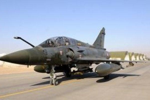 Francúzska stíhačka Mirage 2000 D.