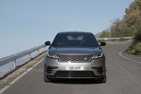 Nový Range Rover Velar.