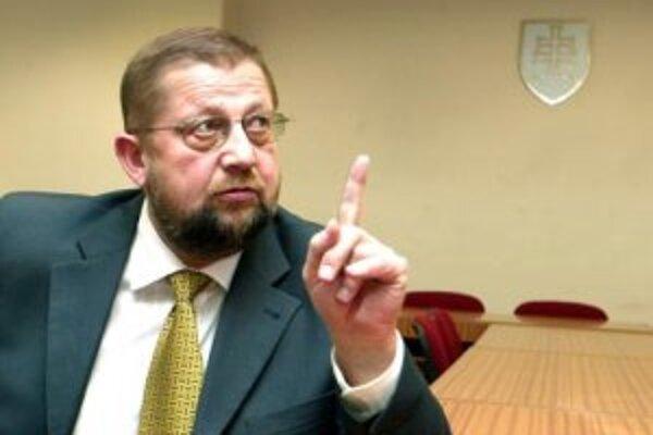 Minister spravodlivosti SR Štefan Harabin.
