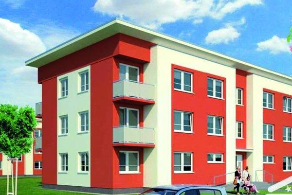 Vizualizácia zprojektu pre stavebné povolenie.