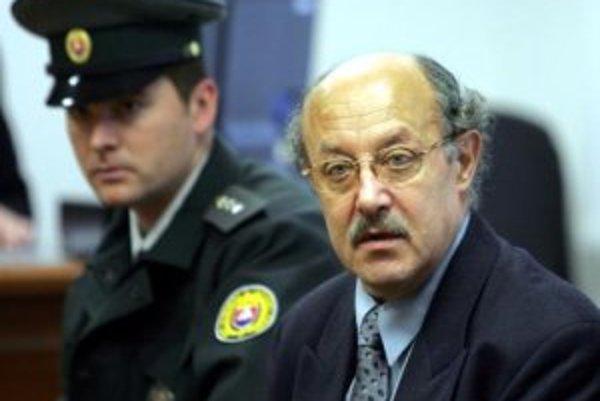 Vladimír Fruni počas súdneho procesu v decembri 2005.