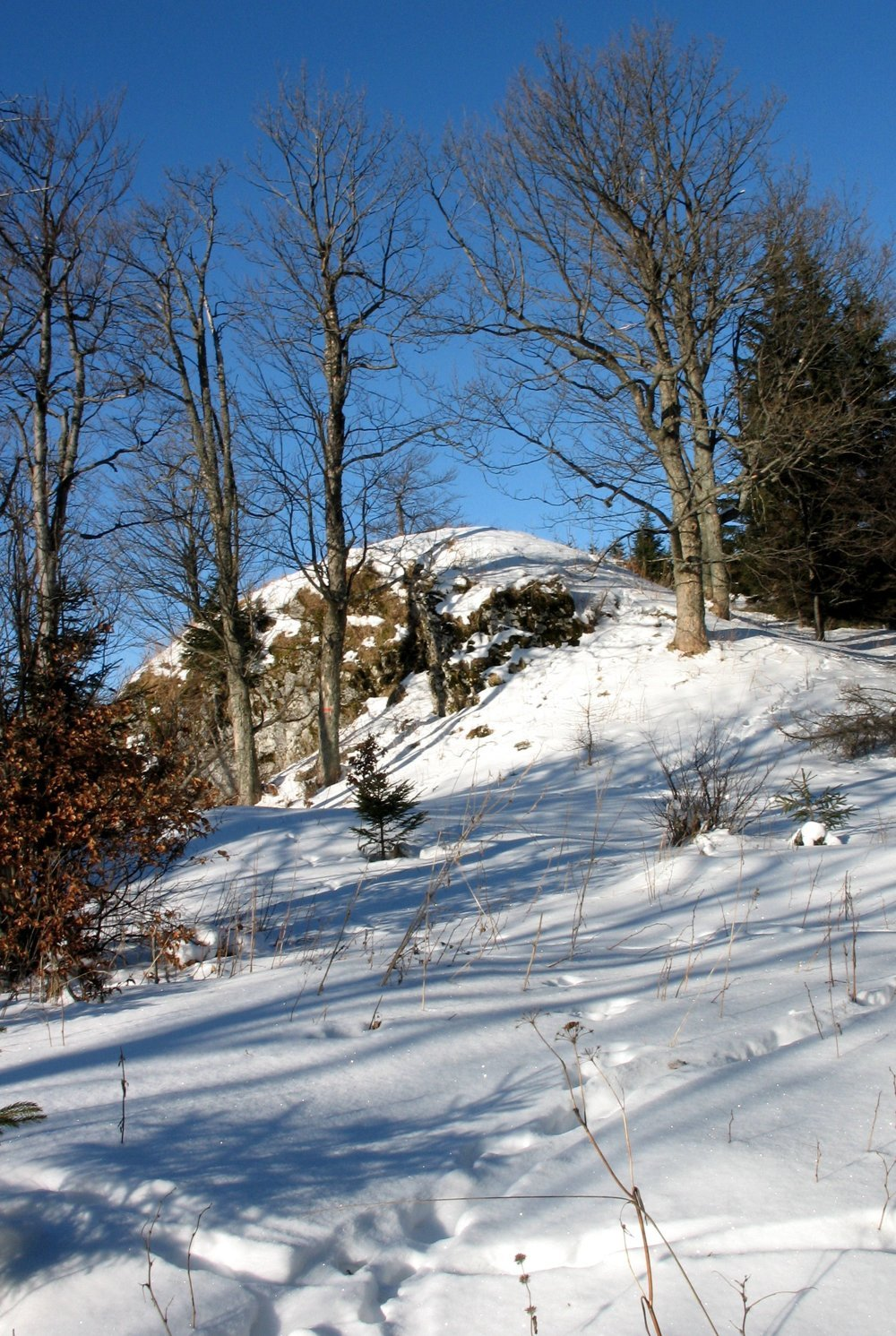 Jeden z vrcholov Ondrejiska.