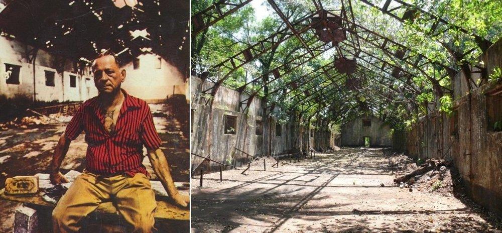 Henri Charriére sa do Francúzskej Guyany predsa len vrátil: aby sa mohol odfotiť na obálku knihy. Ruiny väzenskej budovy stoja na ostrove sv. Jozefa dodnes.