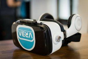 Okuliare na virtuálnu realitu.