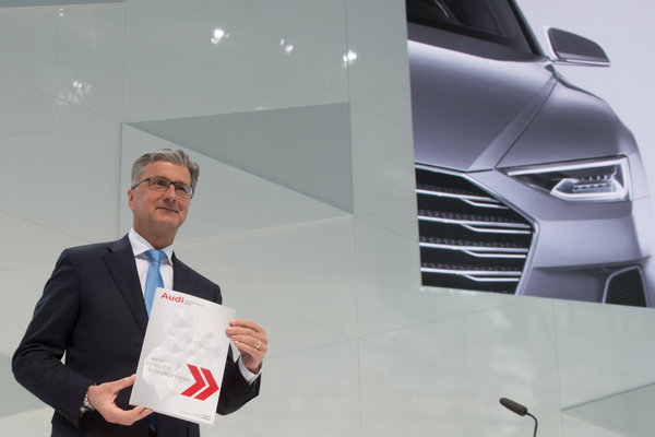 Šéf Audi Rupert Stadler.
