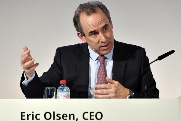 Výkonný riaditeľ spoločnosti LafargeHolcim Eric Olsen.
