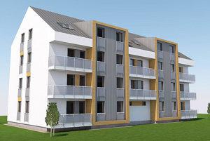 Takto by mala vyzerať plánovaná bytovka.