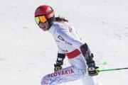 Petra Vlhová najbližšie zabojuje o body v obrovskom slalome s Squaw Valley.