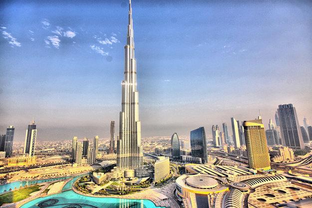 Burj Khalifa v Dubaji.