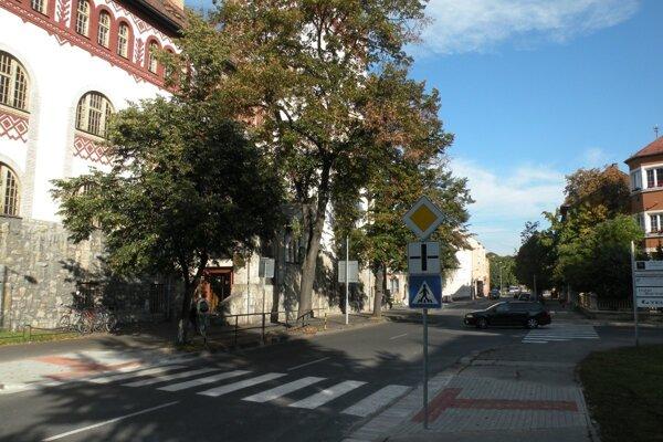 Ulica M. M. Hodžu.