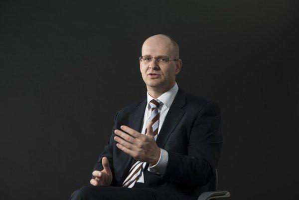 Generálny riaditeľ Stredoslovenskej energetiky Zdeněk Schraml.