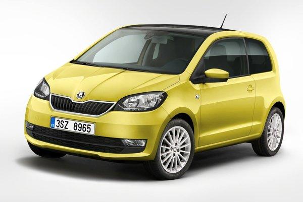 Modernizovaná Škoda Citigo. Citigo s modernizovaným vonkajším vzhľadom a prepracovaným interiérom má svetovú premiéru v Ženeve.