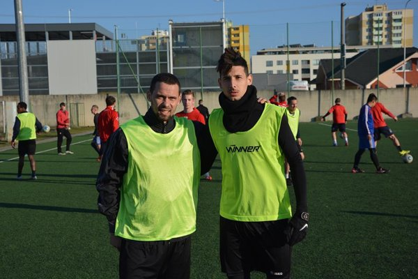 Duo z Alžírska: Younes Laouzai a Cris Anis.