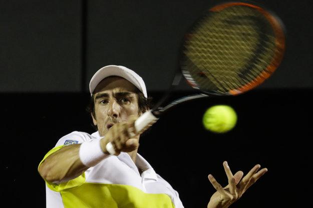 Pablo Cuevas bol nad sily slovenského tenistu.