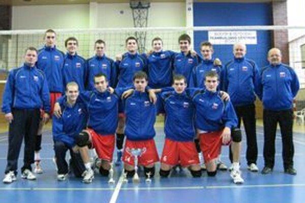 Juniori Slovenska vyhrali mdzinárodný turnaj.