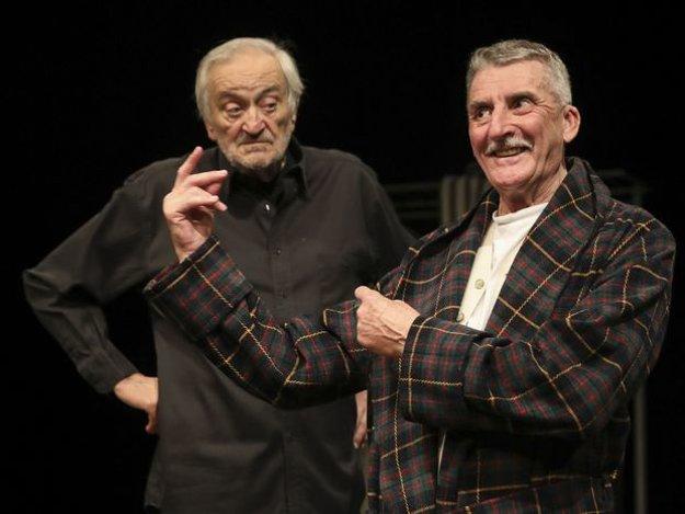 Starí majstri. V nevšednej divadelnej hre sa stretne Milan Lasica a Martin Huba ako dvaja bratia. Hudobný sprievod obom pánom bude robiť Sisa Michalidesová. Predstavenie sa začína 24. apríla v Historickej radnici.