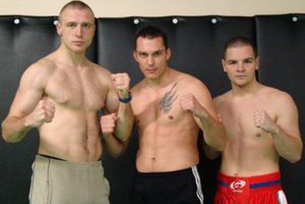 Zľava: Michal Hromek, Vldimír Idranyi a Peter Bezuška.