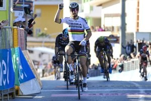 Peter Sagan má na začiatku roka výbornú formu. Na Miláno - San Remo ho čaká prvá veľká skúška.
