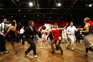 Swingoví tanečníci.