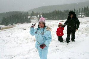 Sneh bol už aj 2. novembra 2006.