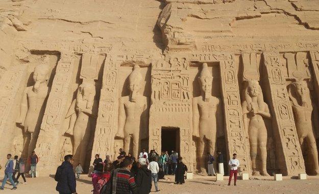 Chrám kráľovnej Nefertari