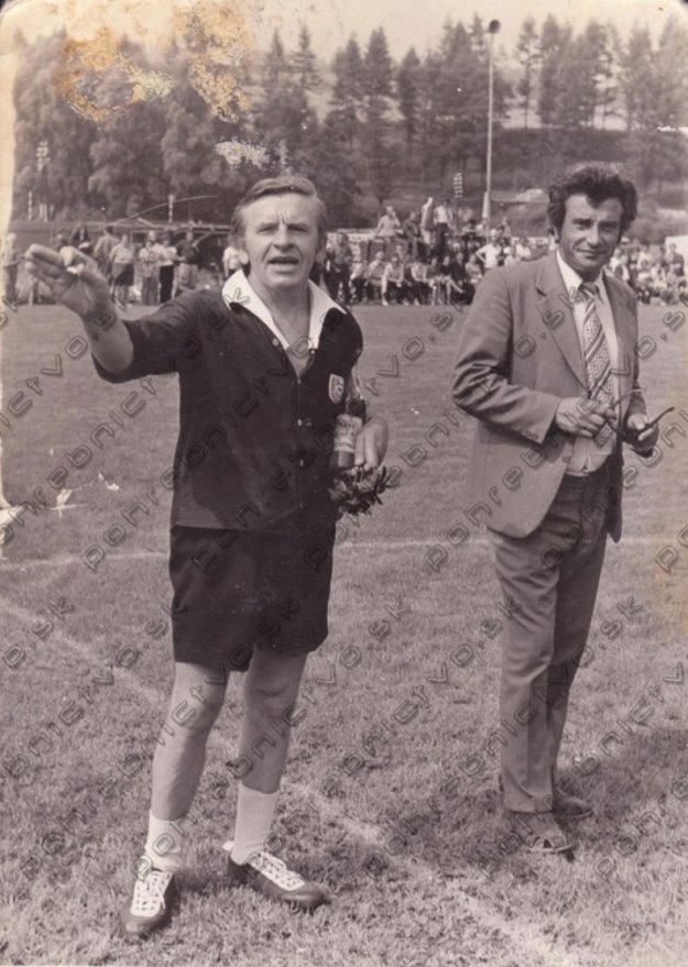Herec na futbalovom turnaji, ktorému pred 45 rokmi prepožičal svoje meno.