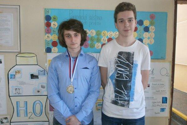 M. Orságh (vľavo) a T. Piecka.