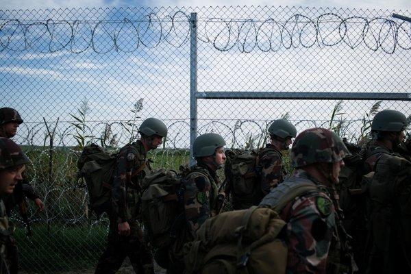 Plot na hranici s Maďarskom a Srbskom vyrástol ešte v roku 2015.