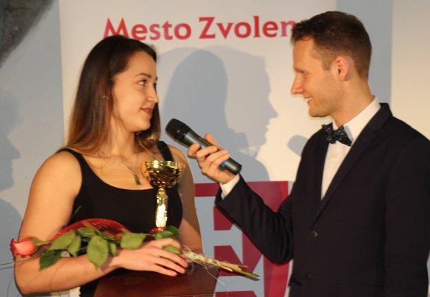 Plutvová plavkyňa - Zuzana Hrašková