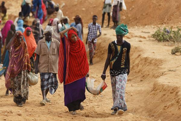 Somálsko trápi extrémne sucho a hladomor.