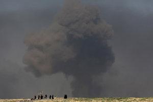 Výbuch v Mósule.