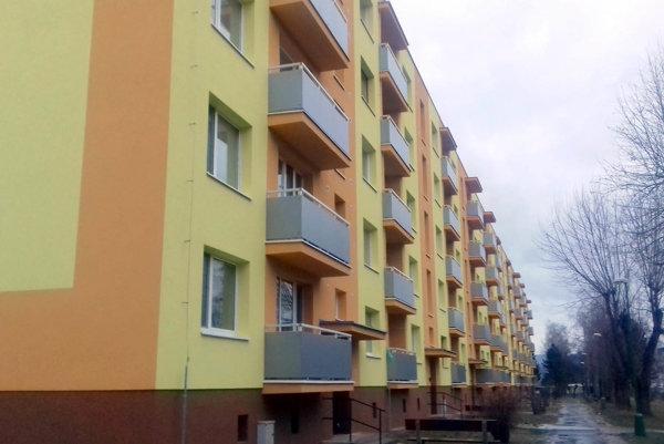 Bytový dom na Trenčianskej 78 v Novej Dubnici obsadil tretie miesto.