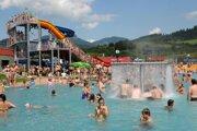 Bešeňová je už roky známa vďaka aquaparku na celom Slovensku aj vokolitých krajinách. Takto vyzeral vroku 2008.