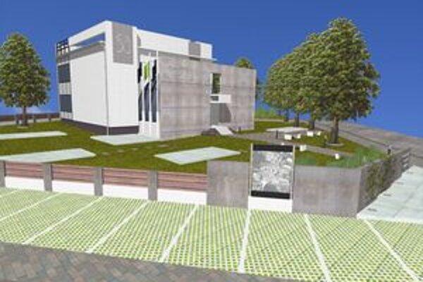 Štúdia novej stavby sľubuje atraktívnu budovu s príjemným prostredím.