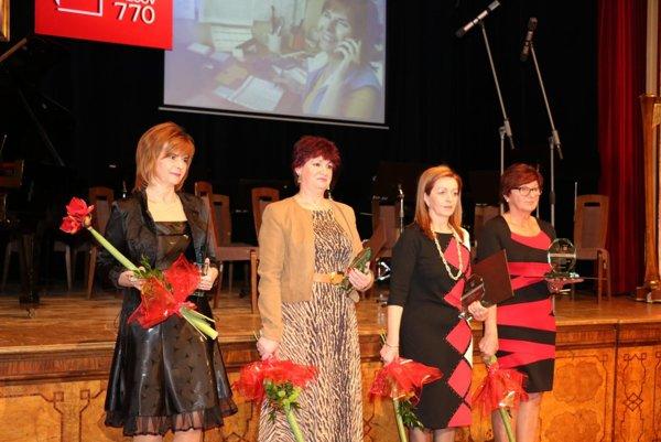 Štvorica z ocenenej trinástky.
