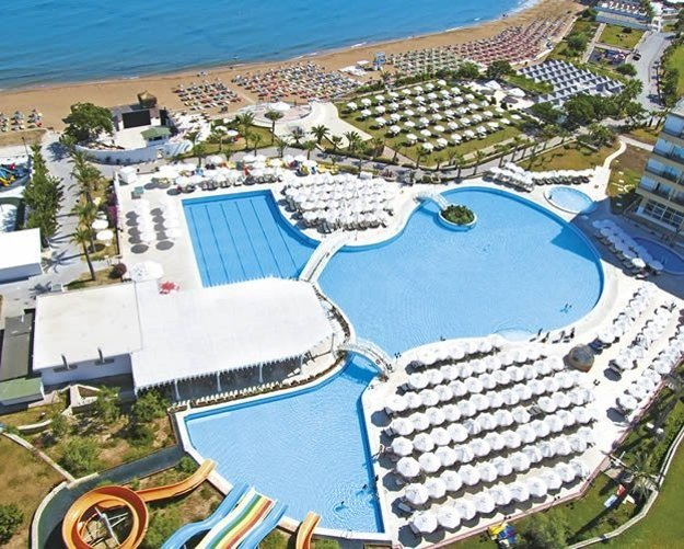 Hotel Acapulco Beach Club &Resort 5*,  severný Cyprus, Catalkoy.