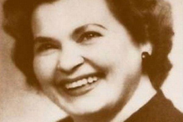 Janka Guzová. Kvôli emigrácii bola nežiaduca osoba a aj preto sa jej fotografie takmer nezachovali.