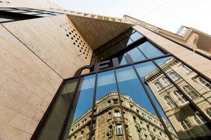 Nová budova Stredoeurópskej univerzity v Budapešti.