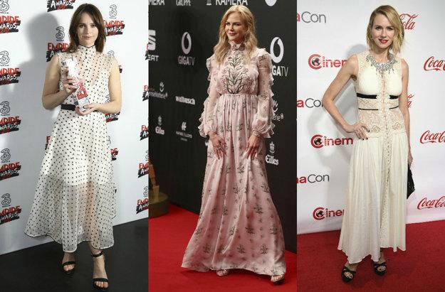 Felicity Jones, Nicole Kidman, Naomi Watts