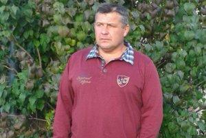 Tréner Pokroku Stará Bystrica Ladislav Kolembus.