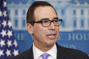 Americký minister financií Steven Mnuchin.