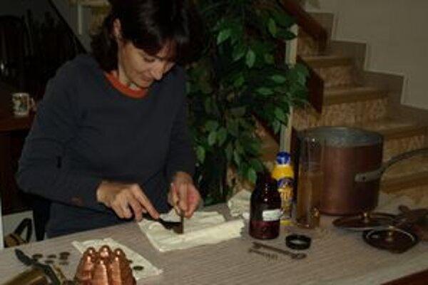 Milena Gundová používa na čistenie exponátov aj obyčajný ocot.