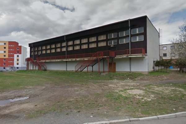 Športová hala v Liptovskom Hrádku.