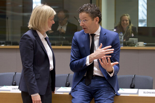 Predseda Euroskupiny Jeroen Dijsselbloem.