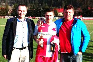 Zľava: Peter Fuček, Ľuboš Červenec a Anton Šimanica.