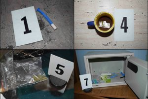 Domová prehliadka odhalila drogy.