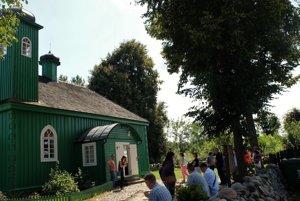 Mešita v Kruszynianoch je obľúbeným miestom turistov.