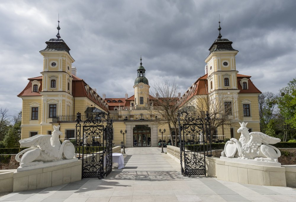 Kaštieľ je jedným z najvýznamnejších barokových diel na Slovensku.