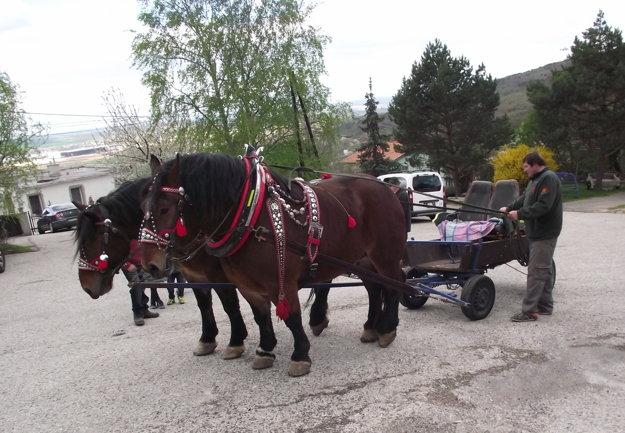 Na skúšobnú jazdu použil Pavol Kitaš závodný vozík.