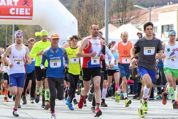 Štart behu Zvolenská corrida